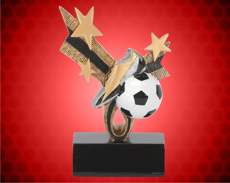 "6"" Top Star Soccer Resin"