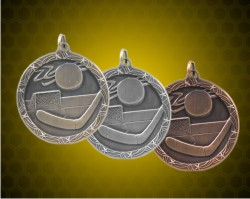 1 3/4 Inch Hockey Shooting Star Medals