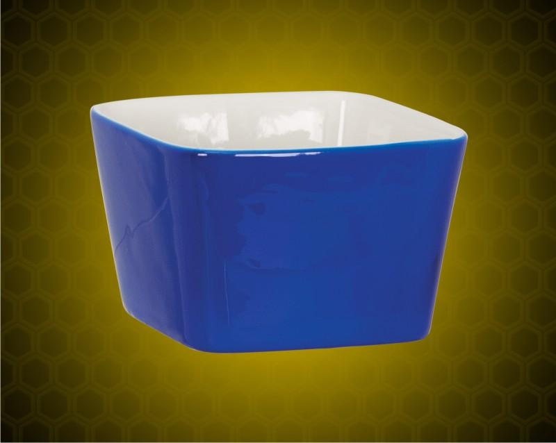 4 x 4 Blue Ceramic LazerBowl