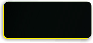 Blank Smooth Plastic Name Tag: Black and Yellow - LM922-407