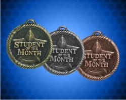2 inch Student of the Month Value Medals