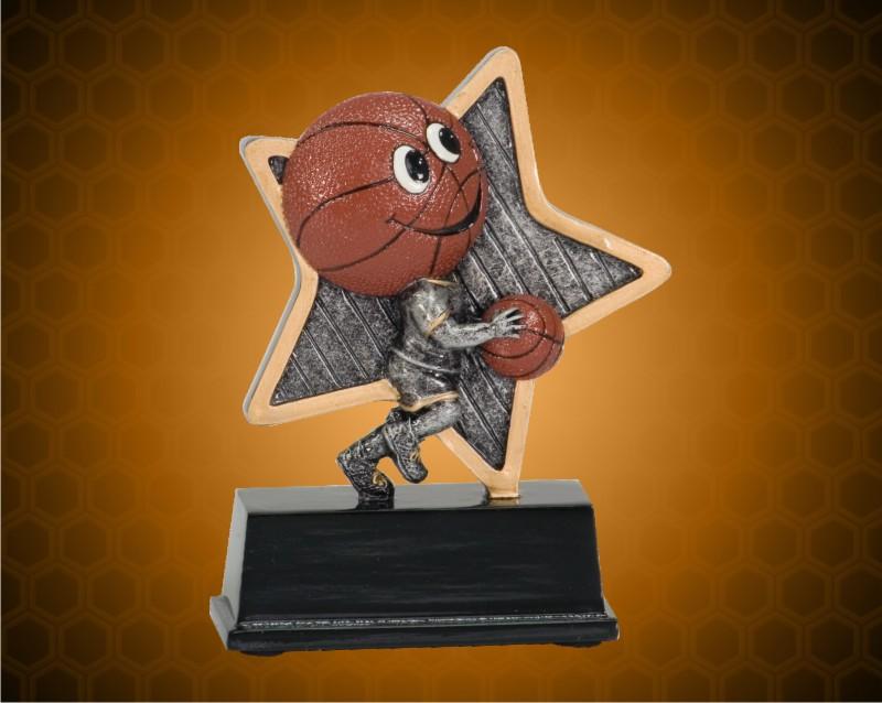 5 Inch Basketball Little Pal Resin