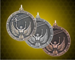 1 3/4 Inch Victory Shooting Star Medals