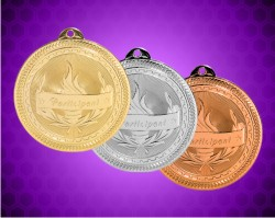 2 Inch Participant Laserable Britelaser Medals