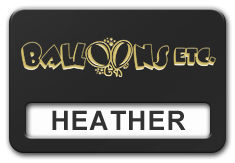 Reusable Smooth Plastic Windowed Name Tag: Black with Gold - LM922-417
