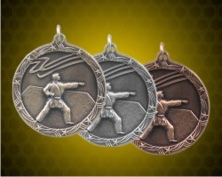 1 3/4 Inch Karate Shooting Star Medals