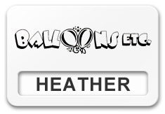 Reusable Smooth Plastic Windowed Name Tag: White with Black - LM922-204