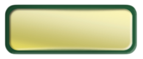 Blank Shiny Gold Nametag with a Green Metal Border
