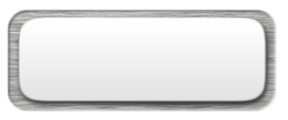 White Nametag with a Brushed Silver Metal Border