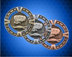 2 1/2 inch Martial Arts BG Medals