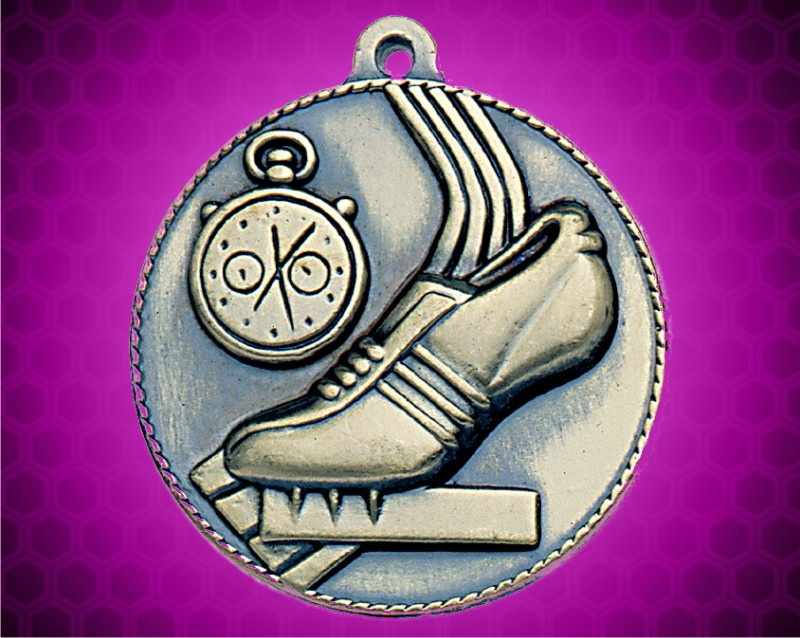 2 inch Gold Track Die Cast Medal