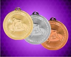 2 inch Wrestling Laserable BriteLazer Medals