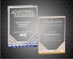 Jewel Mirage Acrylic Award