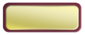 Blank Shiny Gold Nametag with a Burgundy Metal Border