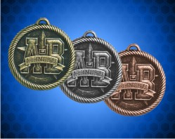 "2 inch ""A-B"" Honor Roll Value Medals"
