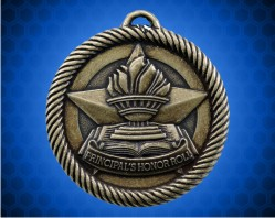 2 inch Gold Principal's Honor Roll Value Medal
