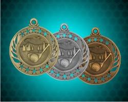 2 1/4 Inch Golf Galaxy Medals