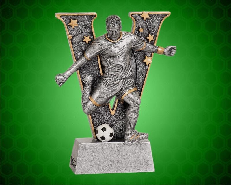 6 Inch Male Soccer V Series Resin