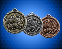 2 inch Science Fair Value Medals