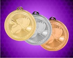 2 Inch Baseball BriteLazer Medals