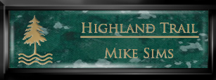 Framed Name Tag: Black Plastic (squared corners) - Verde and Gold Plastic Insert with Epoxy