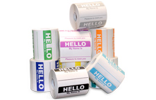 "Sticker - ""Hello My Name Is"" Name Tags"