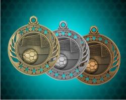 2 1/4 Inch Soccer Galaxy Medals