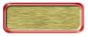 Blank Brushed Gold Nametag with a Shiny Red Metal Border