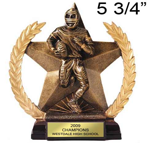 Football Star Wreath Award