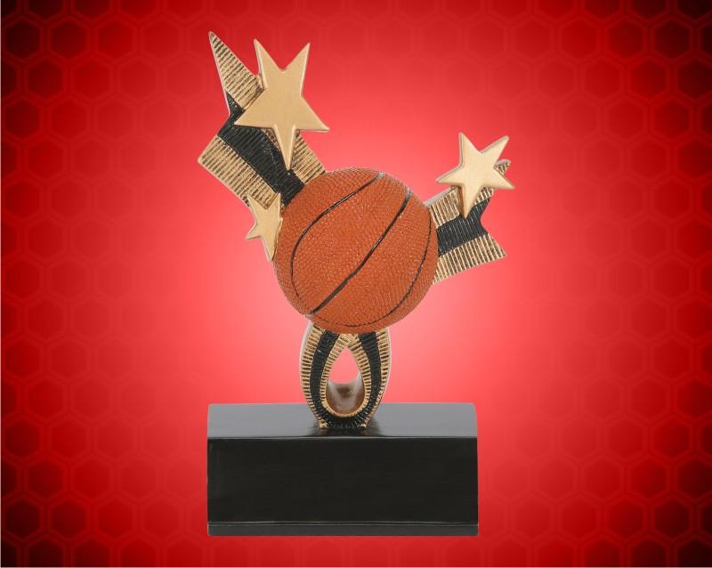 "6"" Top Star Basketball Resin"