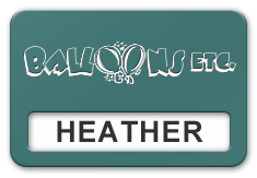 Reusable Smooth Plastic Windowed Name Tag: Celadon Green with White - LM922-972