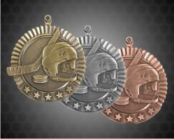 2 3/4 Inch Hockey Star Medal