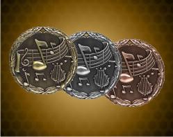 2 inch Music XR Medal