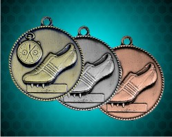 1 1/2 Inch Track Die Cast Medal