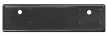 Small Black Square Corner Name Tag Frame