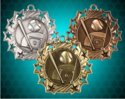 Baseball Ten Star Medals