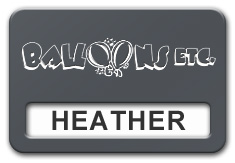 Reusable Smooth Plastic Windowed Name Tag: Smoke Grey with White - LM922-312