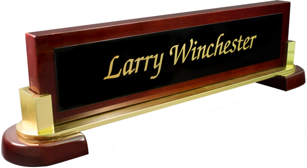 Rosewood Piano Specialty Curved with Black Metal Nameplate with Gold Engraving
