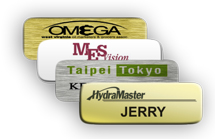 Standard Metal Name Tags