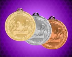 2 Inch Music Laserable Britelazer Medal