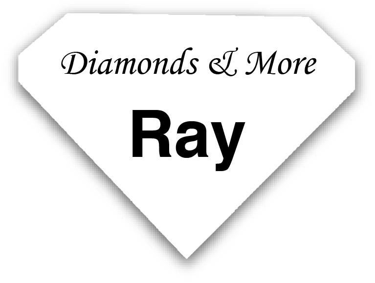 Smooth Plastic Diamond Shape Name Tag - 1.67 x 2.30 inches