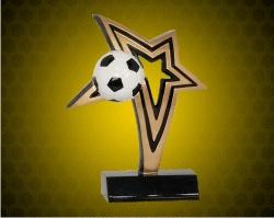 Soccer Infinity Star Resin