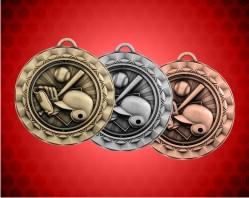 2 5/16 Inch Baseball Spinner Medal