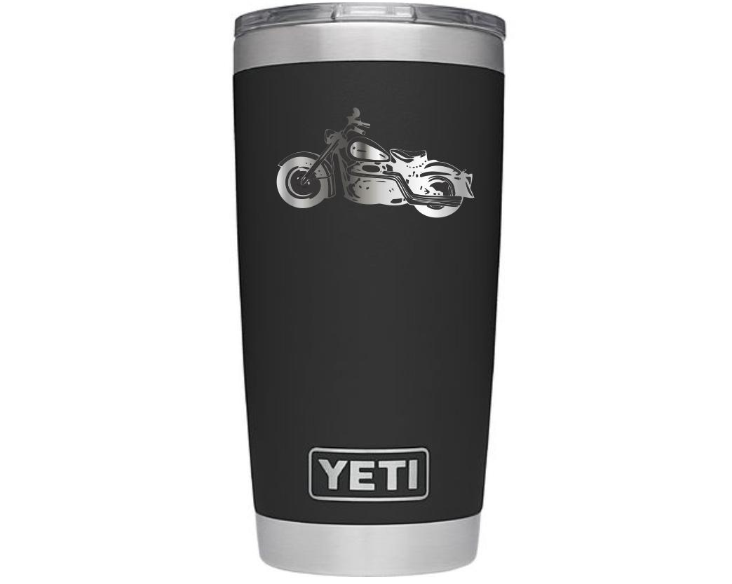 Custom 20 oz Yeti Rambler Black