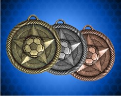 2 inch Soccer Value Medal