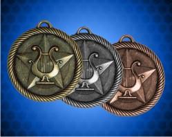 2 inch Music Value Medal