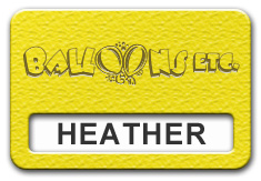 Reusable Textured Plastic Windowed Nametag: Acid Yellow with Brown - 822-778