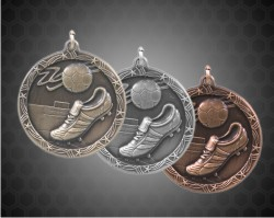 2 1/2 Inch Soccer Shooting Star Medals