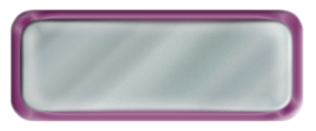 Blank Shiny Silver Nametag with a Shiny Purple Metal Border