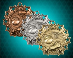 Basketball Ten Star Medals